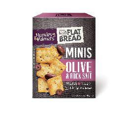 Flatbread Minis – Olive & Rock Salt