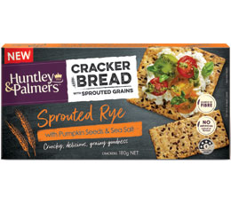 CrackerBread – Sprouted Rye with Pumpkin & Sea Salt