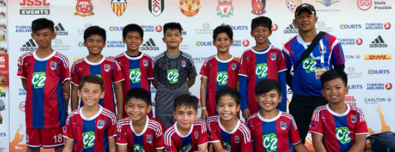 Makati Football Club brings young Filipinos to the international football stage