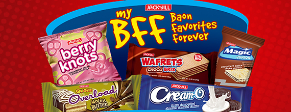 Get your all-week baon with Jack 'n Jill My BFF (Baon Favorites Forever)